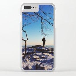 Pulpit Rock, Appalachian Trail Clear iPhone Case