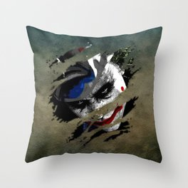 Clown 01 Throw Pillow