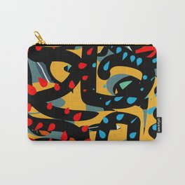 Energy Flow Abstract Art Life Carry-All Pouch