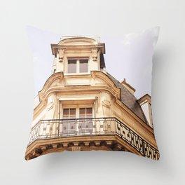 Paris Apartment Throw Pillow