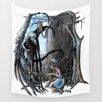 nightmare Wall Tapestries featuring Nightmare by Ju.jo.weh
