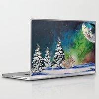 rabbit Laptop & iPad Skins featuring Rabbit by Cs025