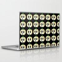 lantern Laptop & iPad Skins featuring Skull Lantern by KristenOKeefeArt