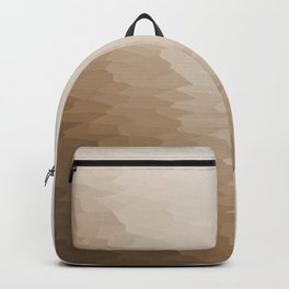 Beige Ombre Texture Backpack