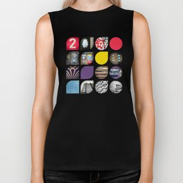 Cold Comfort Collage — The Streets Biker Tank