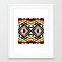 tribal Framed Art Prints featuring Tribal by Ornaart