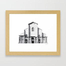 Basilica di San Petronio - Bologna Framed Art Print