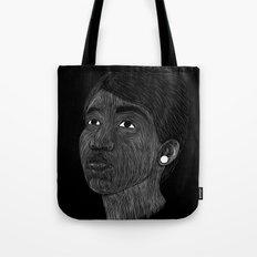 Aretha Franklin Tote Bag