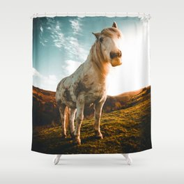 Horse (Color) Shower Curtain