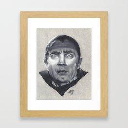 Dr. Acula Framed Art Print