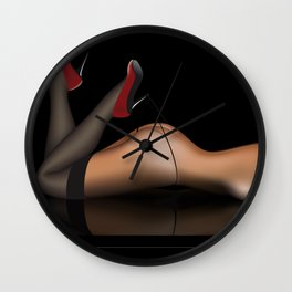 Wow Body Factor Wall Clock