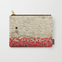 Tower Poppies 01A Carry-All Pouch