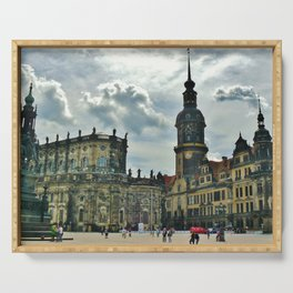 Dresden - Germany - City - Castle - Historic Center. Little sweet moments. Serving Tray