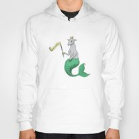 capricorn Hoodies featuring Capricorn by Dan Paul Roberts