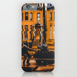 Jay Walk. Glitch Photography iPhone Case