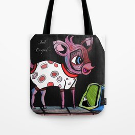 Bambi has just escaped... Tote Bag