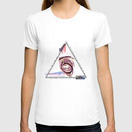 Seeing Eye, tired T-shirt