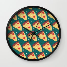 More Pepperoni Pizza, please! Wall Clock