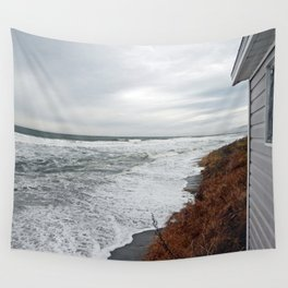 Land and Sea and the line Between Wall Tapestry