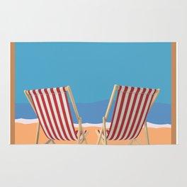 Florida Vintage Travel Poster Rug