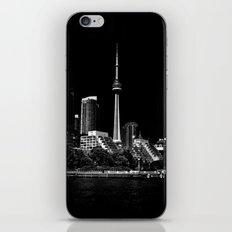CN Tower From Bathurst Quay Toronto Canada iPhone & iPod Skin