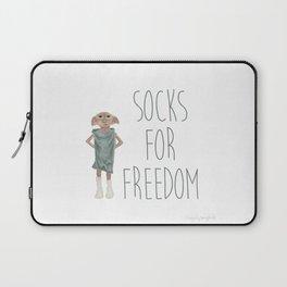 Socks for Freedom Laptop Sleeve