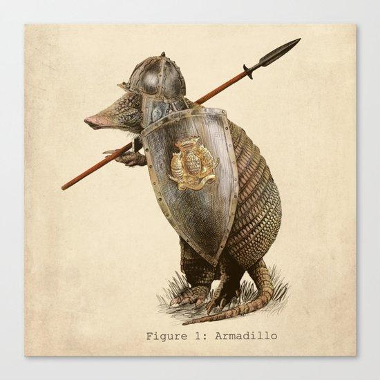 Armadillo (option) Canvas Print
