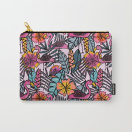 Flamingos - by Kara Peters Carry-All Pouch
