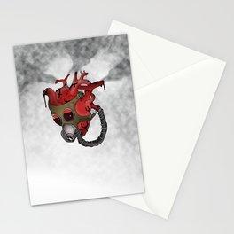 Gaurded Heart Stationery Cards