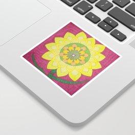 Flower of My Sun Sticker