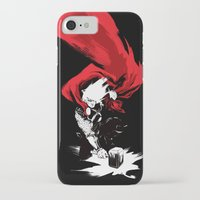 thor iPhone & iPod Cases featuring Thor by Irene Flores