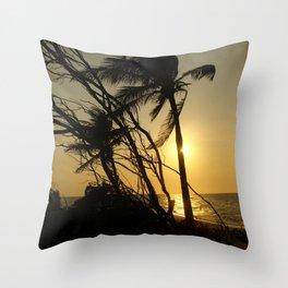Hidden Paradise Throw Pillow