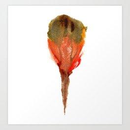 Ceren's Budding Flower Art Print