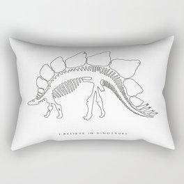 I BELIEVE IN DINOSAURS Rectangular Pillow