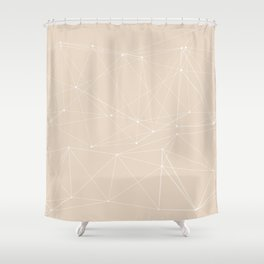 LIGHT LINES ENSEMBLE III-A Shower Curtain