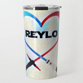 Reylo - Heartsaber - Blue/Red Travel Mug