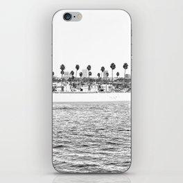 Vintage Newport Beach Print {4 of 4} | Photography Ocean Palm Trees B&W Tropical Summer Sky iPhone Skin