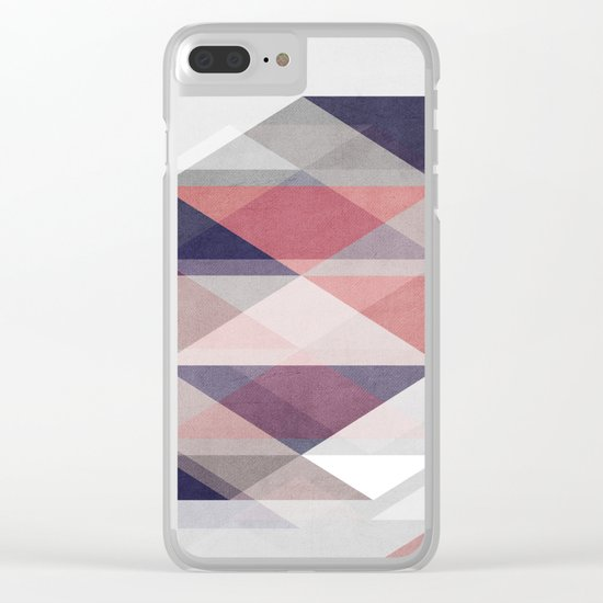 Nordic Combination I Clear iPhone Case