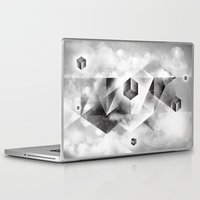 sacred geometry Laptop & iPad Skins featuring Sacred Geometry Four by Richard Seyb
