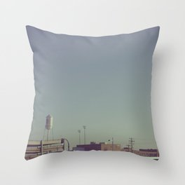 Durham Station Throw Pillow