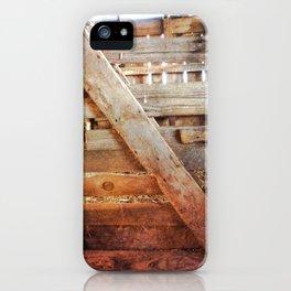 Wood Grain iPhone Case