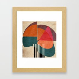 in the autumn Framed Art Print