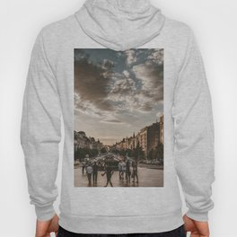 Wenceslas Square in Prague (Czech Republic) Hoody