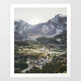 Bulgarian Mountains Art Print