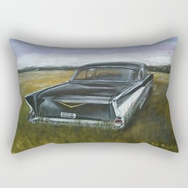 1957 Bel Air Rectangular Pillow
