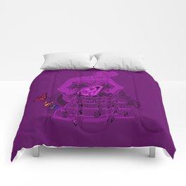 Gift - violet version Comforters