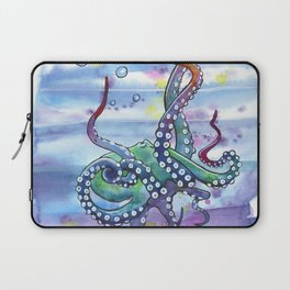 Bath Time Octopus Laptop Sleeve