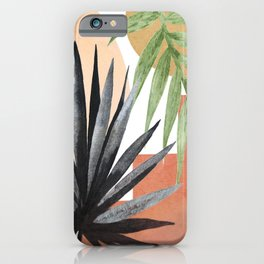 Abstract Tropical Art VII iPhone Case