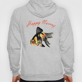 Happy Norooz Demekin Goldfish Persian New Year Hoody