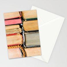 Vintage Books Stacks Stationery Cards